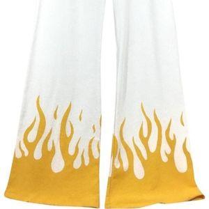 Wildfox Flame Wide Leg Track Pants - SZ S - NWT